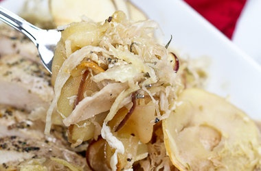 Apple and Cabbage Oven Baked Chicken — Punchfork