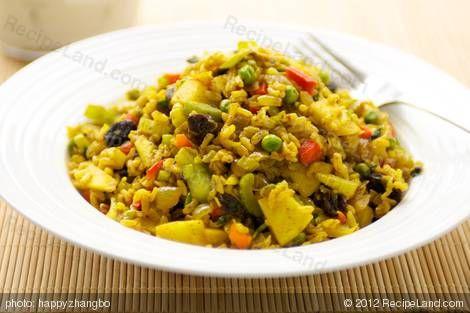 Curry Rice Salad | Recipe
