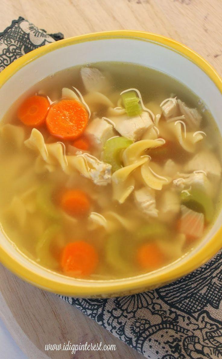 Secret's Out Perfect Chicken Noodle Soup | Soups & Salads | Pinterest