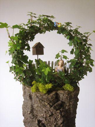 Ivy topiary fun...