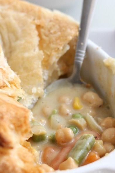 Curried chickpea pot pie | Recipe