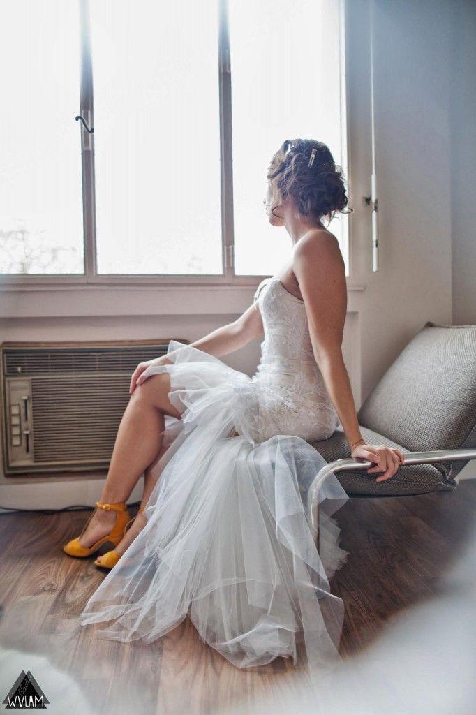 Robe de mariée sur-mesure Marie Viloteau  // ROBES //  Pinterest