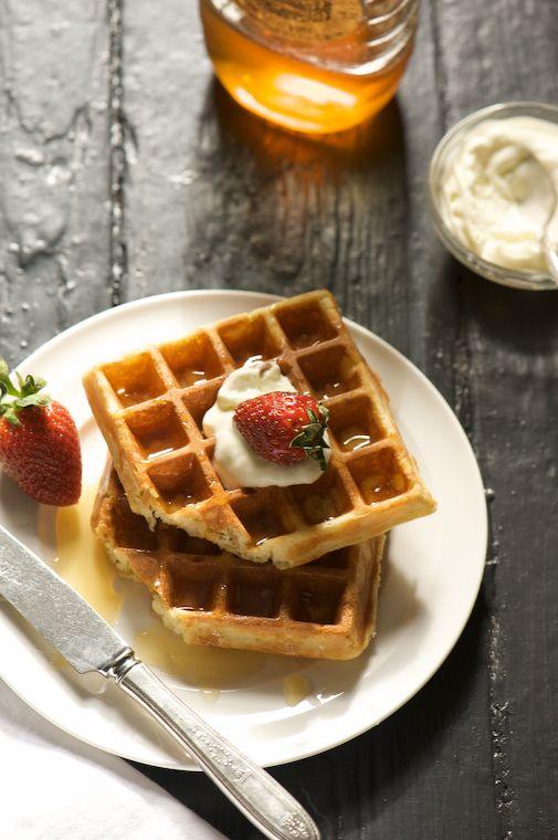 ... yummy?!? Belgian waffles will be on the weekend's breakfast list