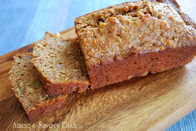 Banana Oat Bread...super moist, wheat and dairy free