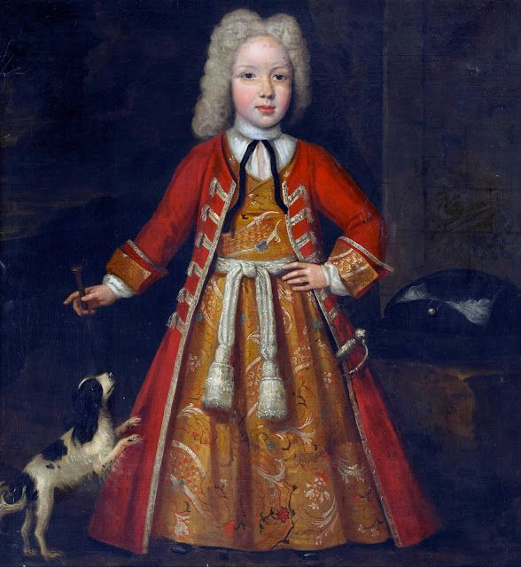 Portrait of a Boy by Johan Verelst,1717