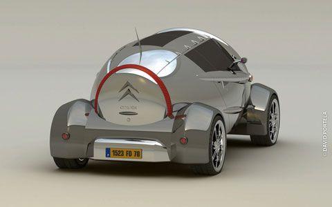 New Citroen 2CV Concept Cars amp Motorcycle Autos amp Motos Pinte