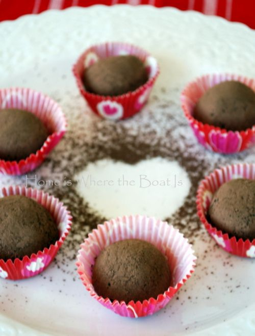 Peppermint Mocha Kahlua Truffles Recipe — Dishmaps