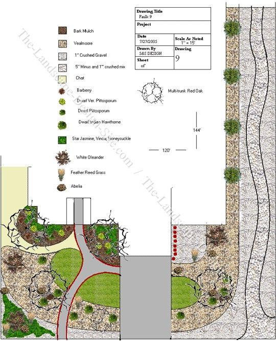 Corner lot ideas green thumb pinterest for Corner landscape plans