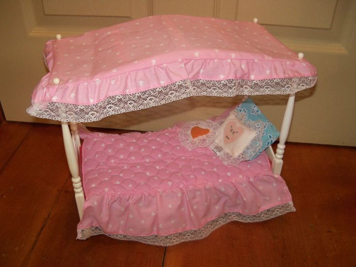 Vintage barbie canopy bed bangdodo for Pool canopy bed