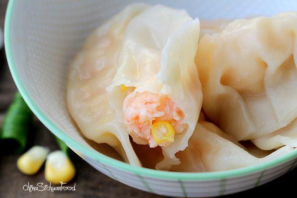 Shrimp and Corn Dumplings   Recipe