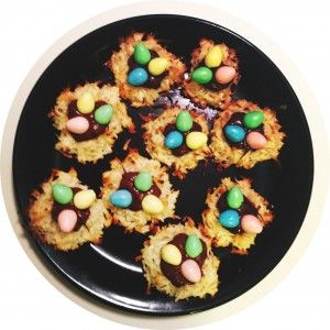 Coconut Macaroon Nutella Nests | Food. The Good Stuff. | Pinterest