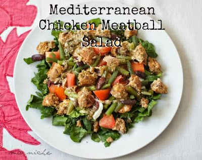 Mediterranean Lamb Meatballs Recipe — Dishmaps