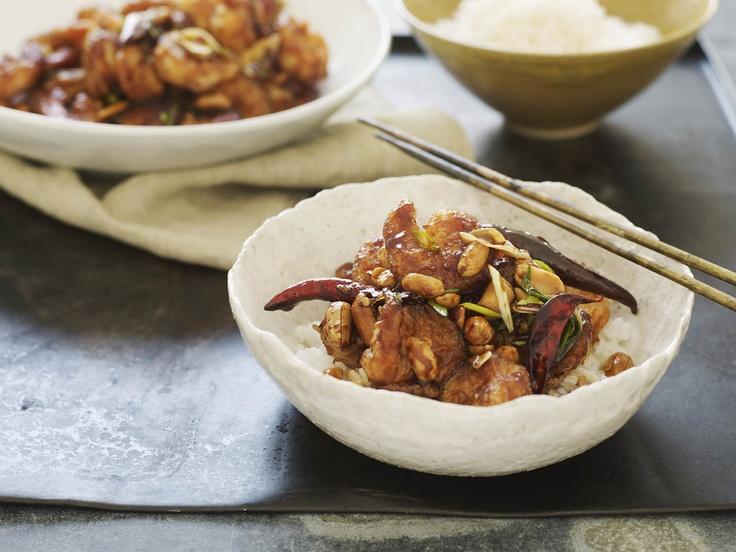 Kung Pao Shrimp | Seafood | Pinterest