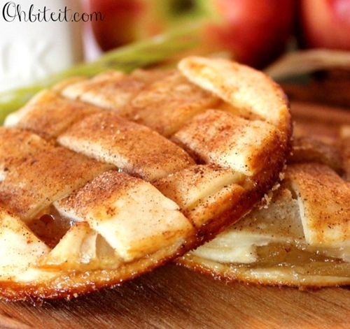Can't Wait To Make These, I Think It's So Cool How Each Cookie Is Like Individual Mini Apple Pie's