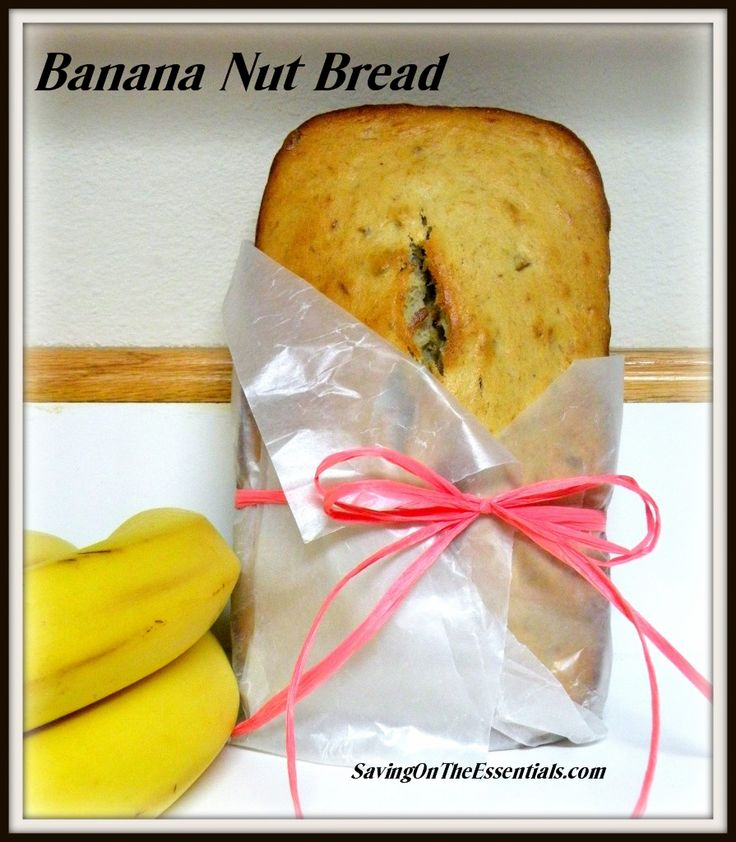 GLUTEN FREE BANANA NUT BREAD RECIPE | Gluten Free Recipes | Pinterest