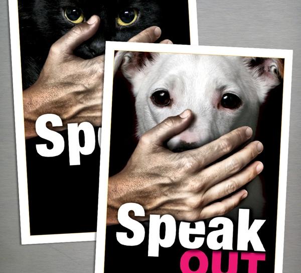 Animal abuse posters - photo#6