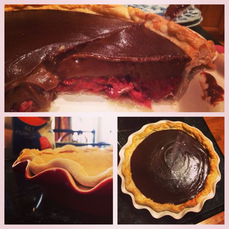 Chocolate strawberry pie | Receipts ... Pies/Galettes/Tarts | Pintere ...