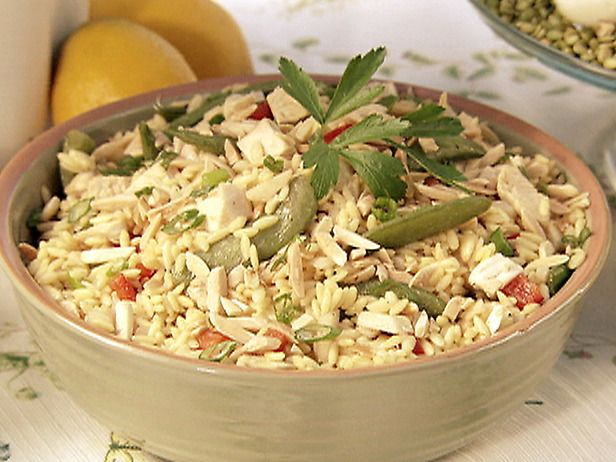 Asian Chicken and Orzo Salad. This recipe infuses Asian flavors in a ...