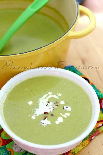 Creamy Asparagus Soup | Soup | Pinterest