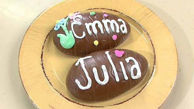 """Decorated #Peanut #Butter #Easter #Eggs 