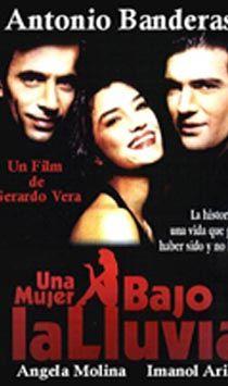"""Antonio Banderas. """"Una mujer bajo la lluvia"""" 1992.. Antonio Banderas"""