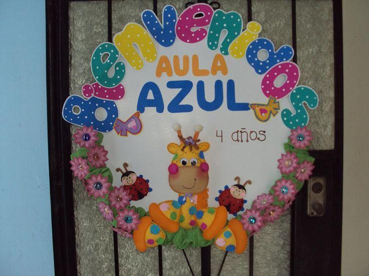 Cartelera para preescolar bienvenida - Imagui
