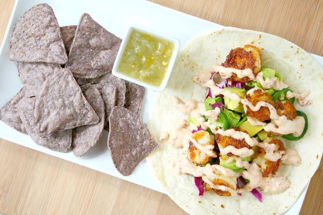 Crispy Chipotle Shrimp Tacos | food! | Pinterest