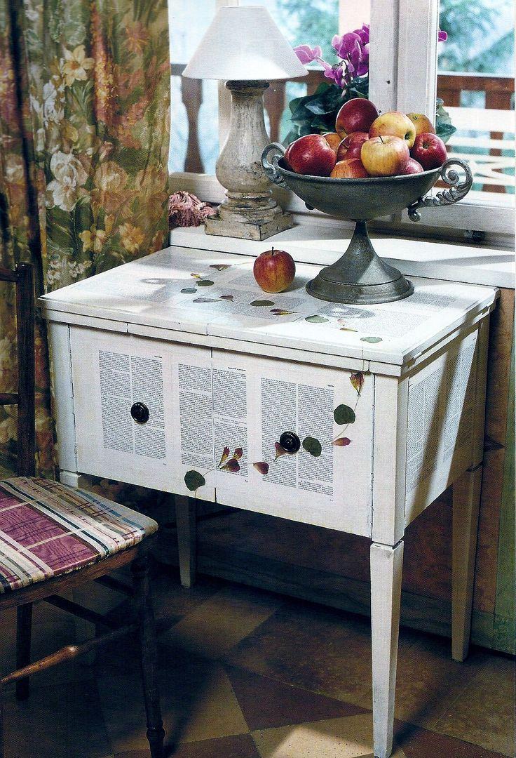 Reciclado de muebles con decoupage crafts - Reciclado de muebles ...