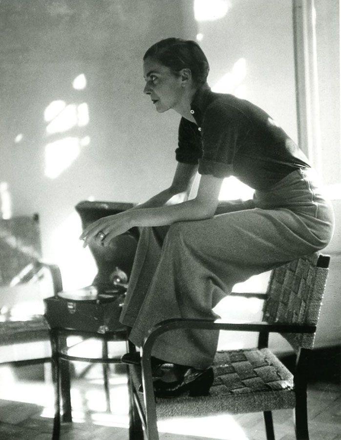 Photo Marianne Breslauer - Lisa von Cramm, Berlin, 1934.