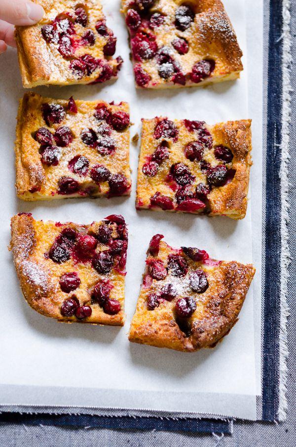 Cranberry Clafoutis Cake ☆ | Ӝ̵̨̄ Sweet Delights Ӝ̵̨̄ ...