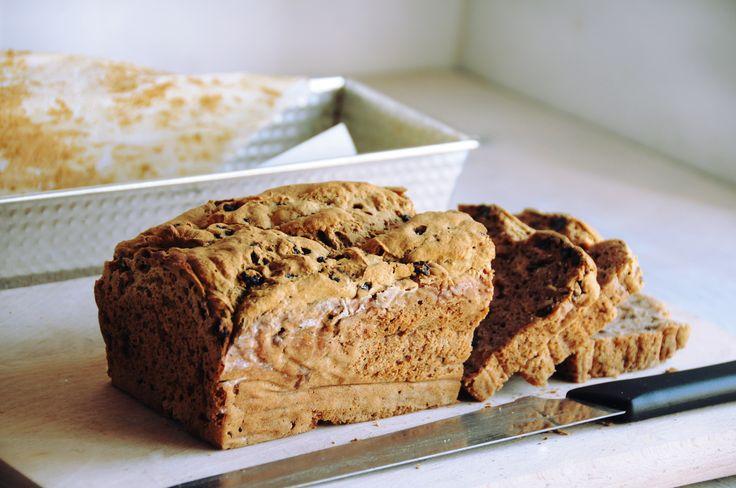 cinnamon & raisin bread - gluten free | Gluten Free Breakfast | Pinte ...