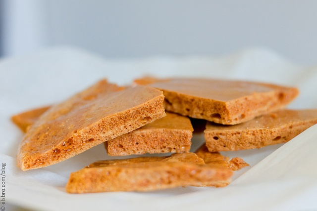 Honeycomb Toffee without honey! | Sweet Treats | Pinterest
