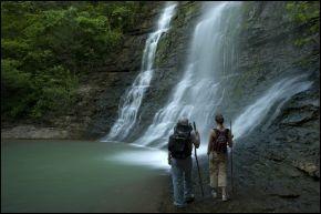 Natural waterfalls - beautiful waterfalls - Arkansas waterfalls