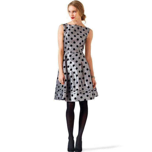 Mademoiselle R La Redoute automne-hiver 2013 robe floquée pois