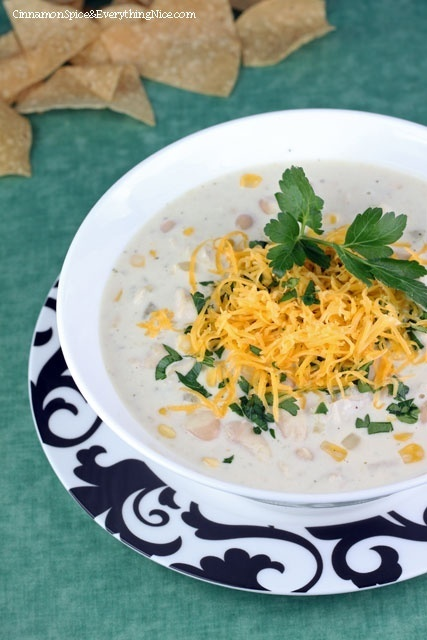 Cream Cheese Chicken Chili | Favorite Recipes | Pinterest