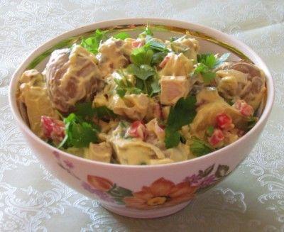 creamy smoked tofu potato salad | Salad | Pinterest