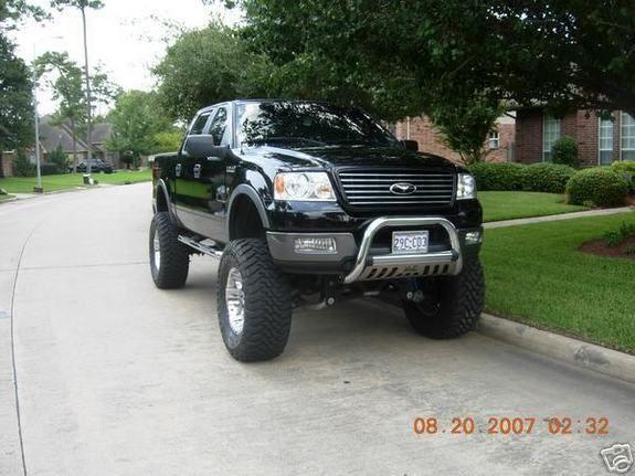 Ford truck-lifted Jack up trucks Pinterest