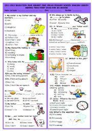 jsc english 1st paper question