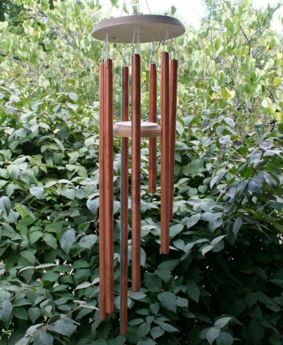 homemade copper wind chimes craft pinterest