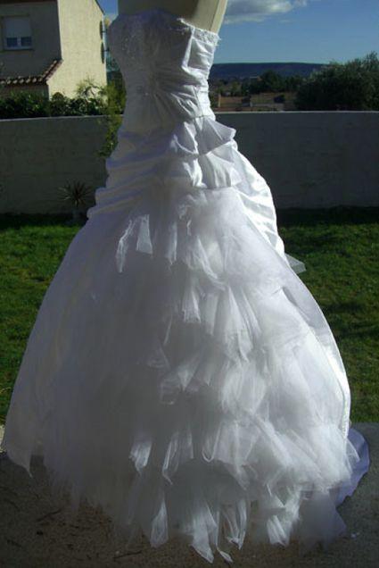 Robe de mariée Tati mariage Palermine  Robes de mariée et articles ...