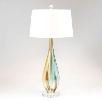 art glass table lamp bedroom pinterest