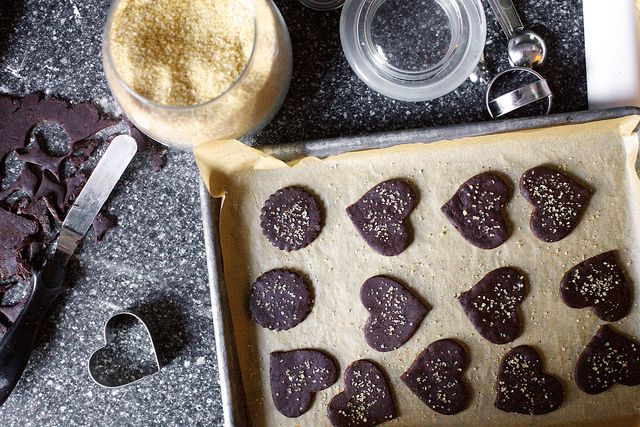 Intensely chocolate sables via: Smitten Kitchen http://smittenkitchen ...