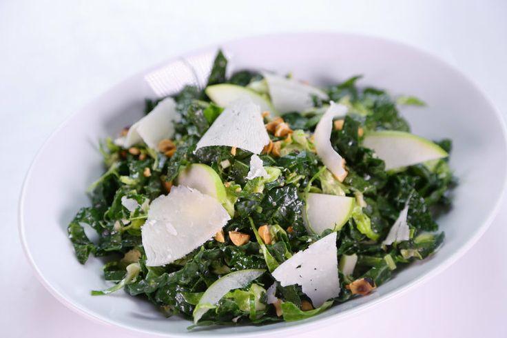 Brussels Sprout Kale Slaw Guy Fieri | ingredients 1/2 pound Brussels ...
