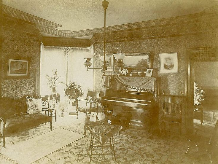 Victorian parlor victorian age pinterest for Early 1900 house styles