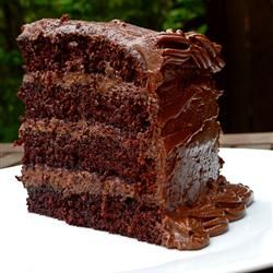 Extreme Chocolate Cake Allrecipes.com--best chocolate cake recipe ever ...