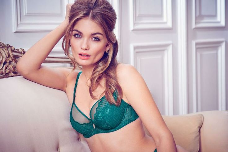 Lulu Tout Coco Lace Underwired Bra Set (DD-H) in Emerald #LuluTout #Frenchstyle #figleaves