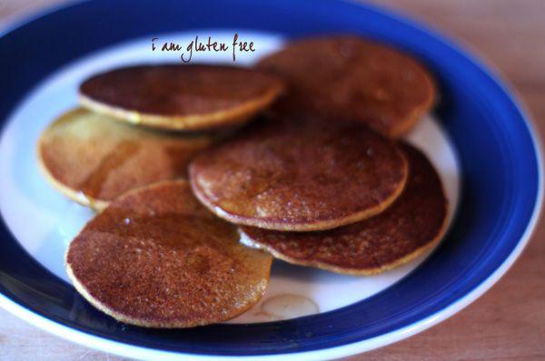 Silver Dollar Pumpkin Pancakes | Food - Gluten Free | Pinterest