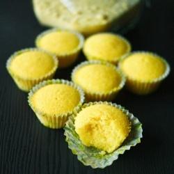 Lemon Polenta cupcake | Recipes | Pinterest
