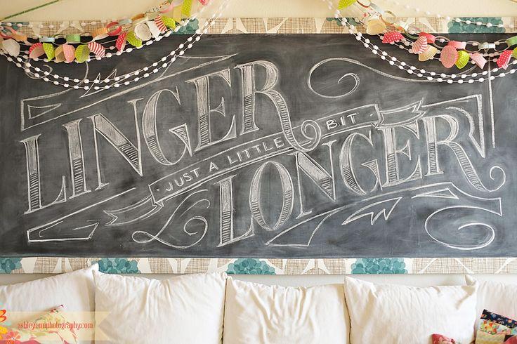 just a little bit longer: