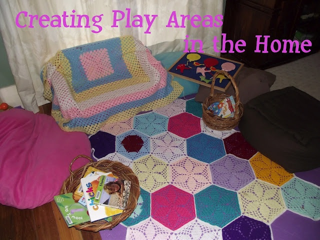 Creating fun spaces for toddlers...no dedicated playroom required!
